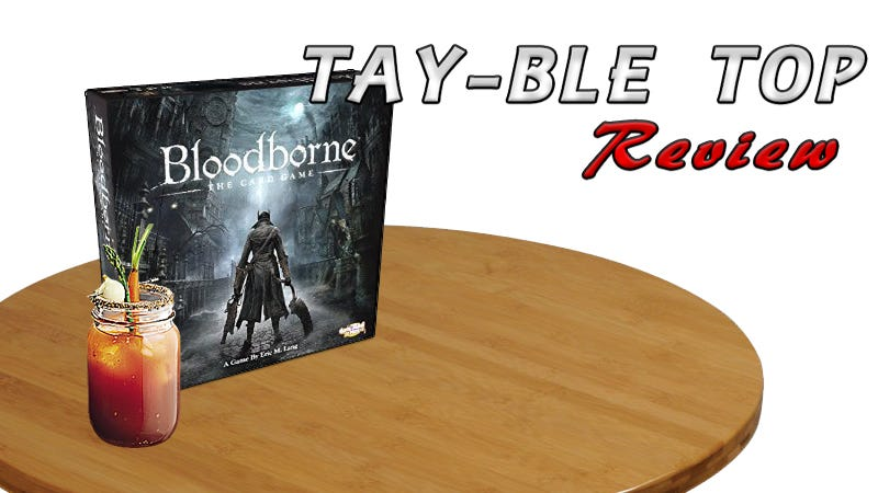 Illustration for article titled Bloodborne: The TAY-ble Top Review