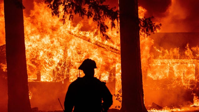 California's Dixie Fire Has Now Burned an Area the Size of New York City