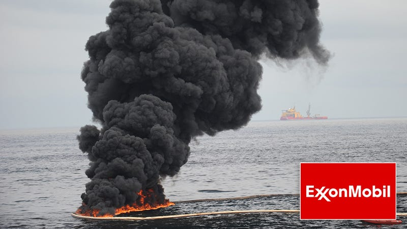 Illustration for article titled Smooth Recovery: ExxonMobil Has Played Off Their Latest Massive Oil Spill As If They Did It On Purpose