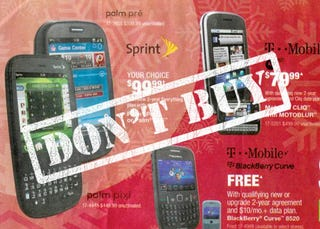 Illustration for article titled Why You Should Ignore Black Friday Cellphone Deals
