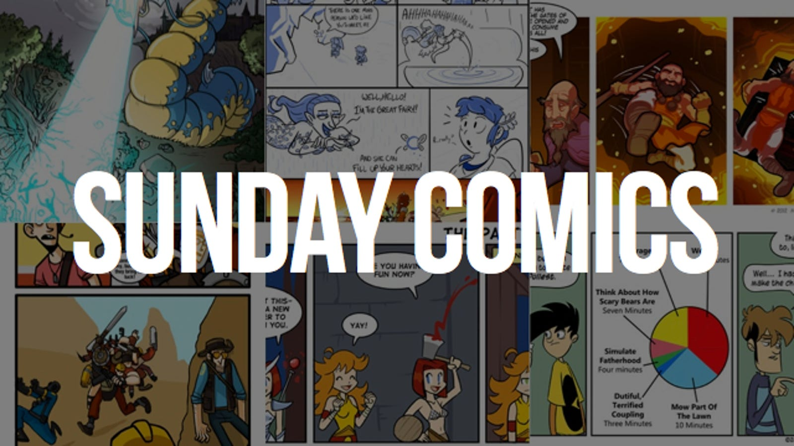 Sunday Comics: A Hell of an Error