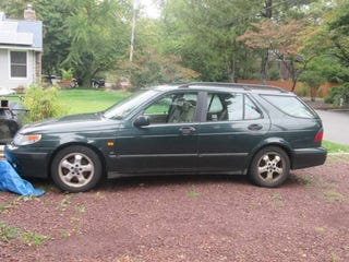 Illustration for article titled Found On Craigslist: SAAB 9-5 Wagon Project Car