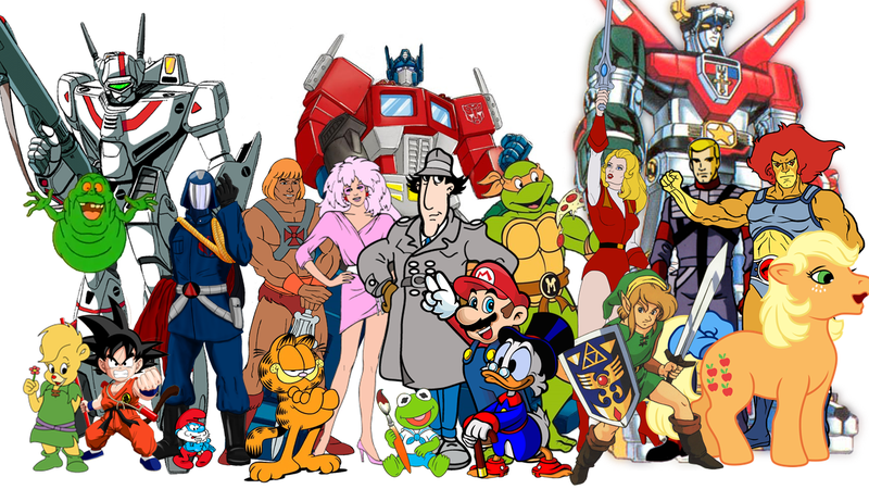 Cartoon Characters In The 80s : The top s cartoons analyzed by someone who wasn t there
