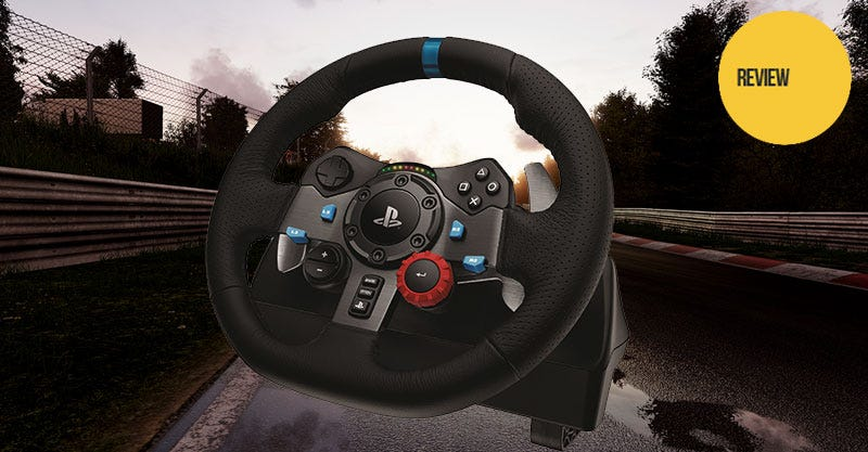 Illustration for article titled Logitech G29 Driving Force Racing Wheel For PS4: The Kotaku Review