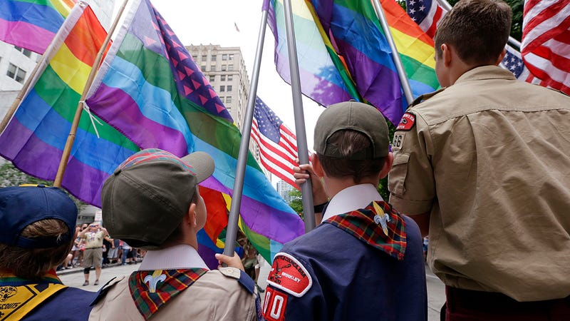 Illustration for article titled It's Official: Gays Can Now Lead Boy Scouts
