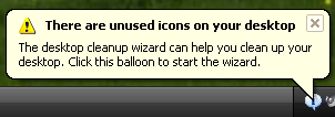 "Illustration for article titled Disable Windows ""Unused Icons"" Balloon"