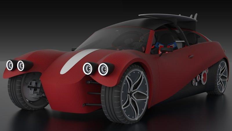 Illustration for article titled En 2016 podrás comprar el primer coche impreso en 3D, pero te costará 53.000 dólares