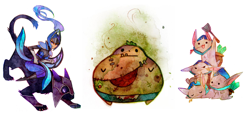 Illustration for article titled These Dota 2 Heroes Belong In A Children's Book