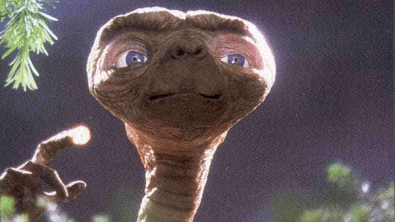 Via Parade.condenast.comSteven Spielberg Discusses The Mysterious, Slimy Man Who Played E.T.