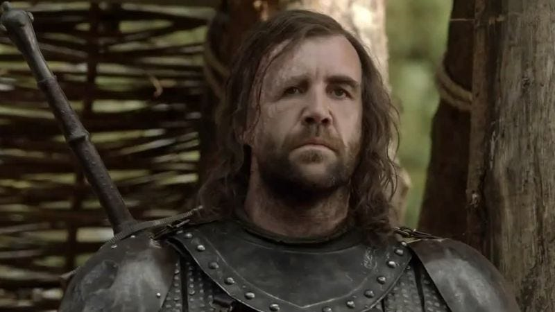 Rory McCann as Sandor Clegane (Photo: HBO)