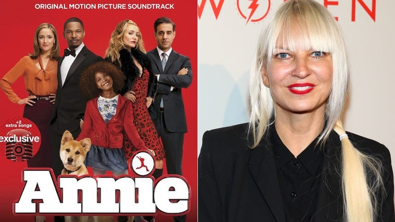 Illustration for article titled Sia Adds a Gleeful Touch to the Annie Soundtrack