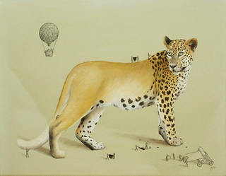 Illustration for article titled Artist Imagines the Tiny People Who Make Animals Possible
