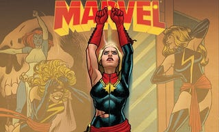 Illustration for article titled The Many People Who Have Called Themselves Captain Marvel
