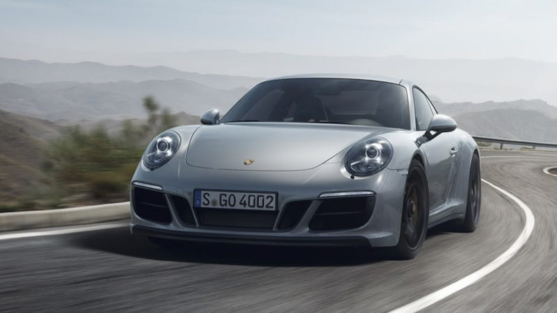 Illustration for article titled The Porsche 911 Carrera GTS Gets A 450-Horsepower Turbo Engine