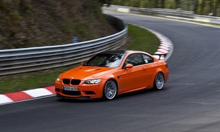 Illustration for article titled $170k BMW M3 GTS Just Barely Faster Than $109K M3 CSL