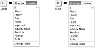 Illustration for article titled Gmail Adds New Move To and Labels Drop-Downs, Autocomplete
