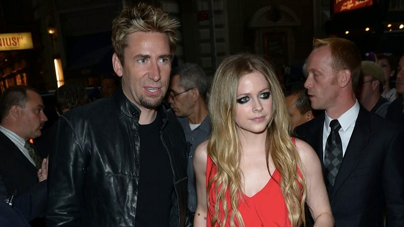 Illustration for article titled Avril Lavigne and Chad Kroeger Marry, Forming Unholy Music Alliance