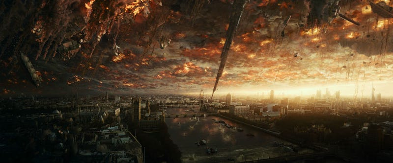 Illustration for article titled New Independence Day: Resurgence Footage Reveals Giant Monsters and a Huge Celebration