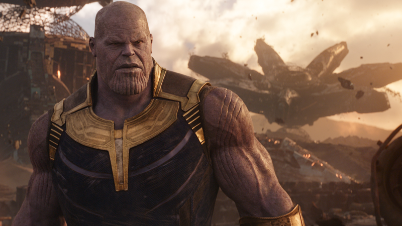 Thanos better be quaking in his big purple booties when a certain someone  appears in Avengers 4. Image: Avengers: Infinity War (Marvel Studios)