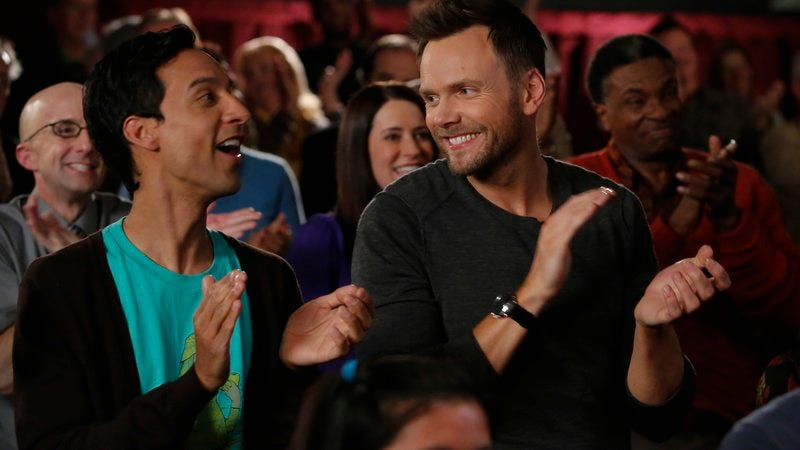 Jim Rash, Danny Pudi, Paget Brewster, Joel McHale, Keith David