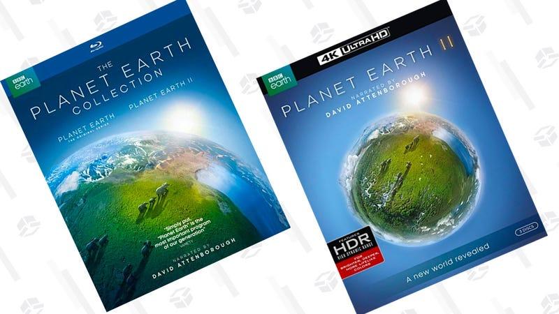 Planet Earth II [4K] | $29 | AmazonPlanet Earth I & II gift set |  $35 | Amazon