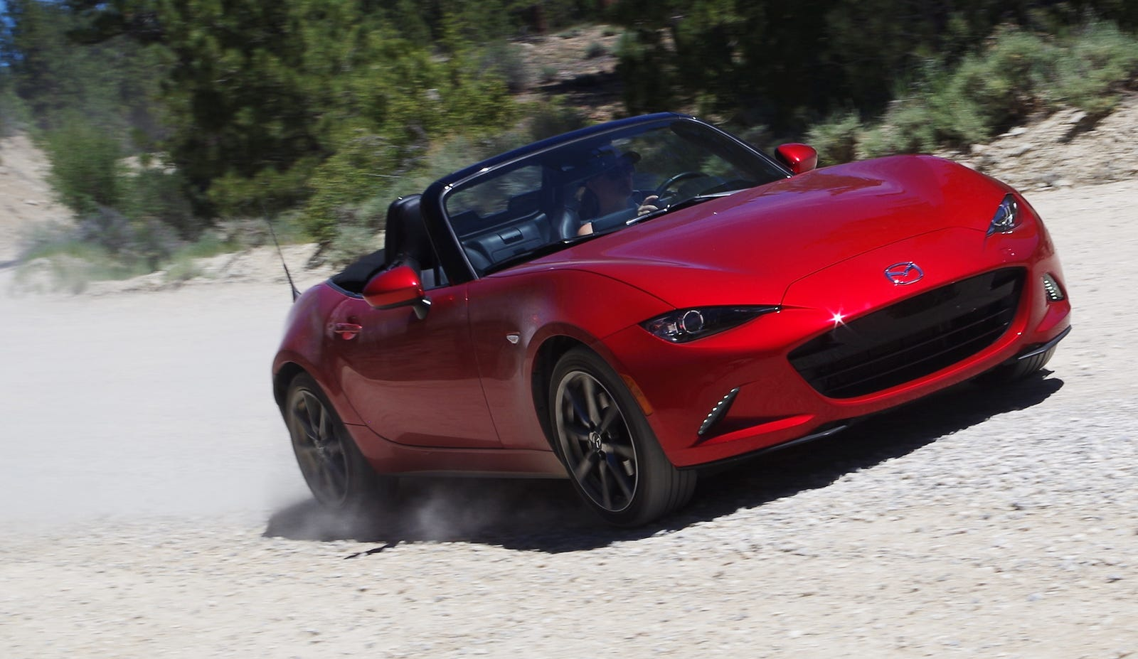 I Took A Mazda Miata Out On The Trails With Some Jeeps