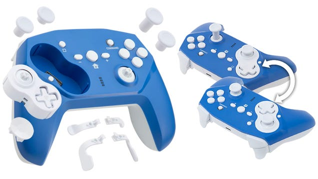 Can t Decide on a Controller Layout? This Gamepad Lets You Flip the D-Pad and Joystick as Often as You Want