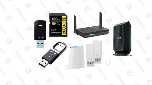 There s Something For Everyone in this Networking and Storage Gold Box