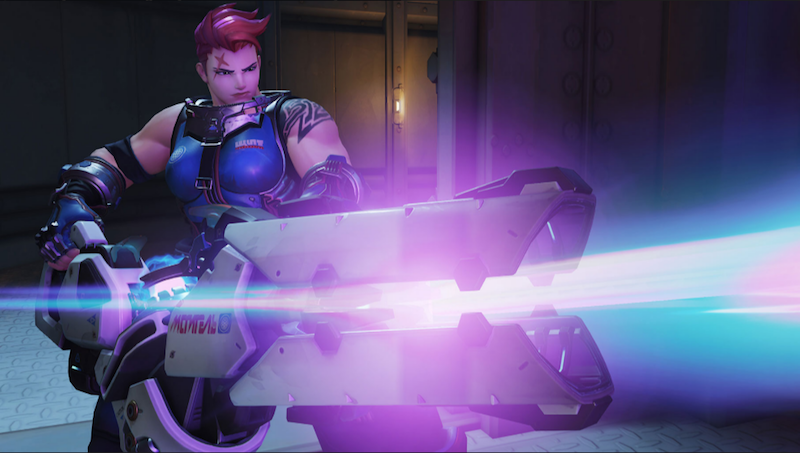 Zarya (from Blizzard)