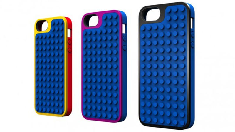Illustration for article titled Lego iPhone Cases Re-Define Brick Phone