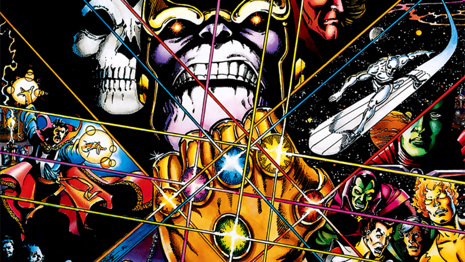 One Detail From the Infinity Gauntlet Comic That Probably Won't Make