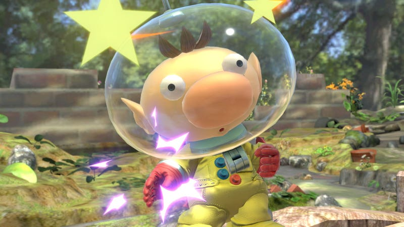 Illustration for article titled Captain Olimar Got Done Dirty In Latest Smash Patch