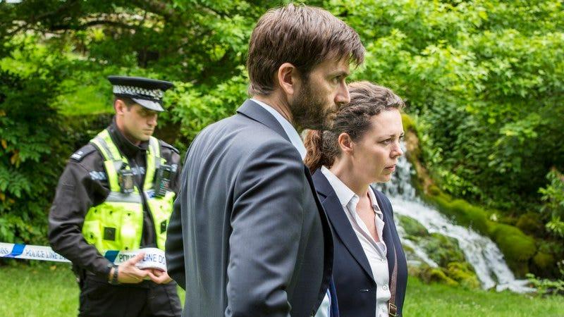 Olivia Colman, David Tennant (Photo: Colin Hutton/BBC America)