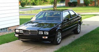Illustration for article titled For $6,500, This 1985 Maserati Biturbo is a Biturbo No More