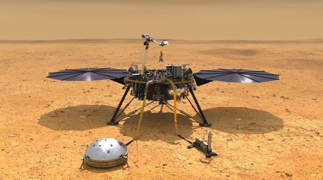 After Two Years of Frustration, NASA Finally Nixes Its Martian Mole