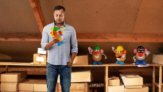 Heroic Conservative Risks Own Life To Hide Mr. Potato Heads In Attic
