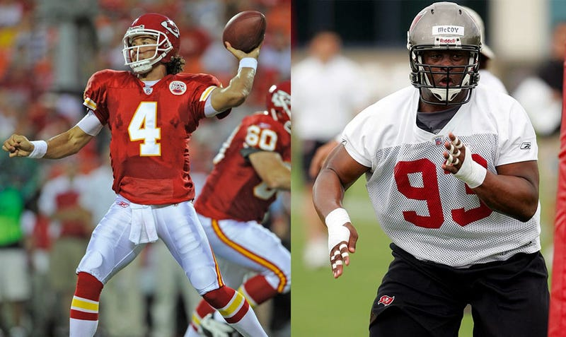 """Illustration for article titled Bucs DT Gerald McCoy Thinks Very Little Of Chiefs Backup Tyler Palko, Or Is It """"Calabaloo,"""" Maybe?"""