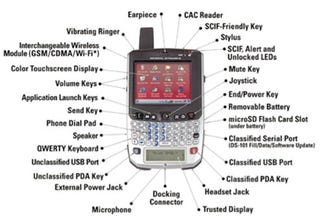 Illustration for article titled Obama's BlackBerry May Be Replaced With a Giant Windows Mobile Brick