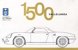 Illustration for article titled DeTomaso Vallelunga