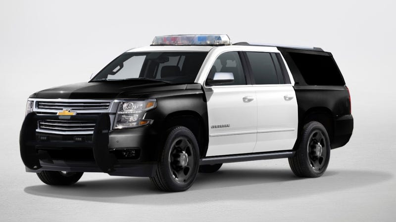 Illustration for article titled The 2015 Chevy Suburban PPV Edition