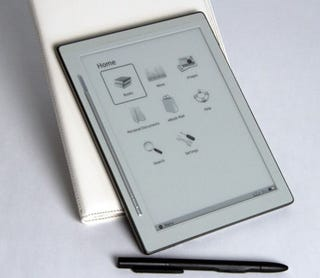 Illustration for article titled iRex DR800SG Ebook Reader: Verizon 3G, B&N Books, Stylus Touchscreen