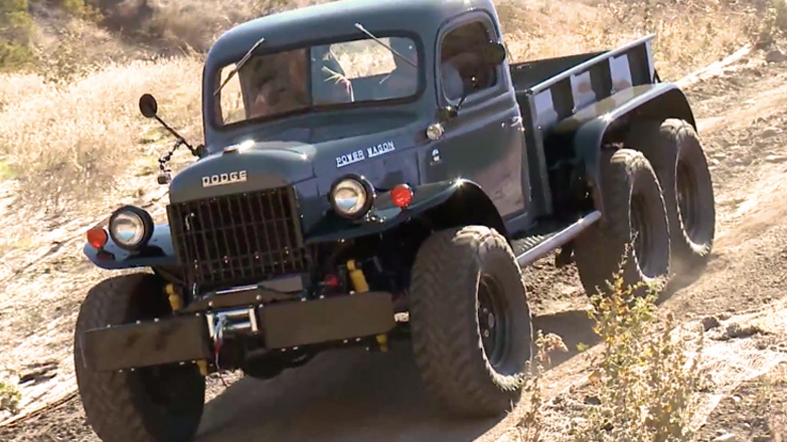 Slow Simple And 6wd How To Build The Ultimate Old School Power Wagon 1949 Dodge