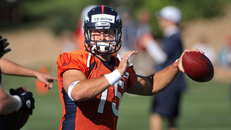 Jesus Christ Claims Tim Tebow Not Ready To Be Nfl Starter