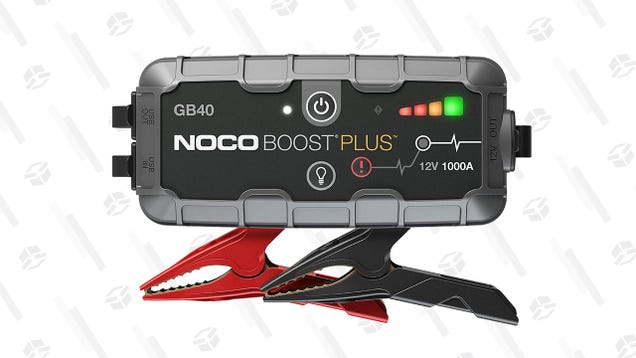 This NOCO Boost UltraSafe Lithium Jump Starter Is Down To $76 Today