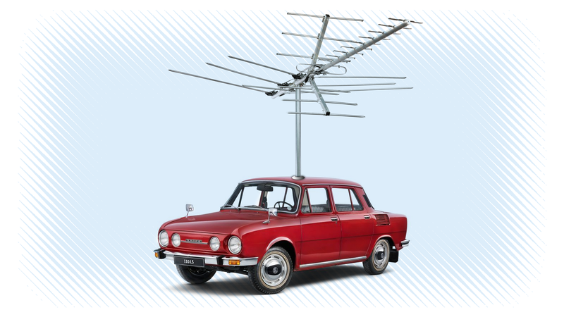 Illustration for article titled Why Cars Don't Have Those Long Antennas Anymore