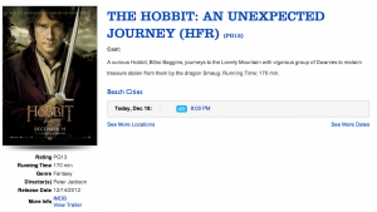 The Hobbit: An Unexpected Masterclass in Why 48 FPS Fails