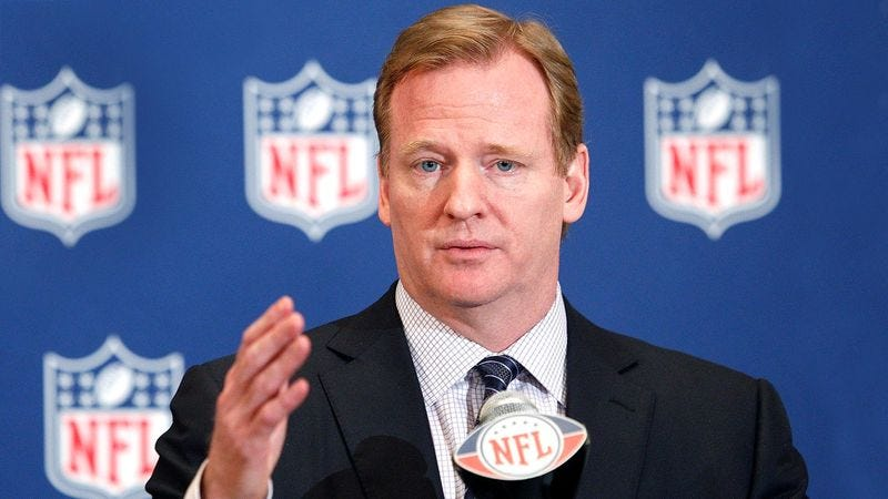 Illustration for article titled Roger Goodell Announces NFL Will Begin Collecting Players' Sperm For New Breeding Program