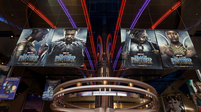 IMAX, Regal Entertainment Group, Walt Disney Picture and Marvel Studios hosted an advanced IMAX screening of 'Black Panther' for the Boys & Girls Club of Greater Houston on February 15, 2018 in Houston, Texas.