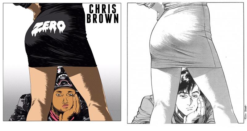 Illustration for article titled Chris Brown's 'Zero' Artwork Sure Looks Familiar