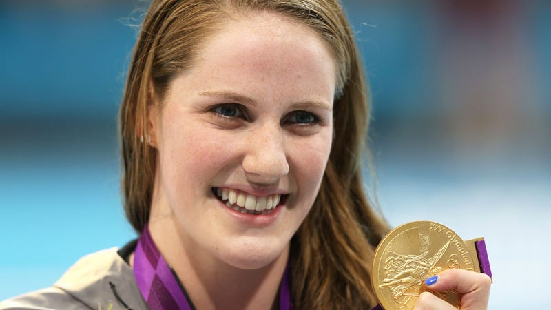 Illustration for article titled Olympic Gold Medalist Missy Franklin Is Swimming for Her High School Like It's No Big Deal